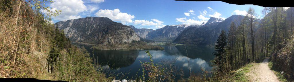Herrliche Bergpanoramen in der Steiermark