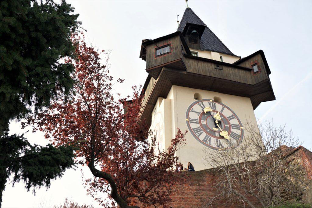 Грац: Замок Шлоссберг и центральная площадь Хауптплатц